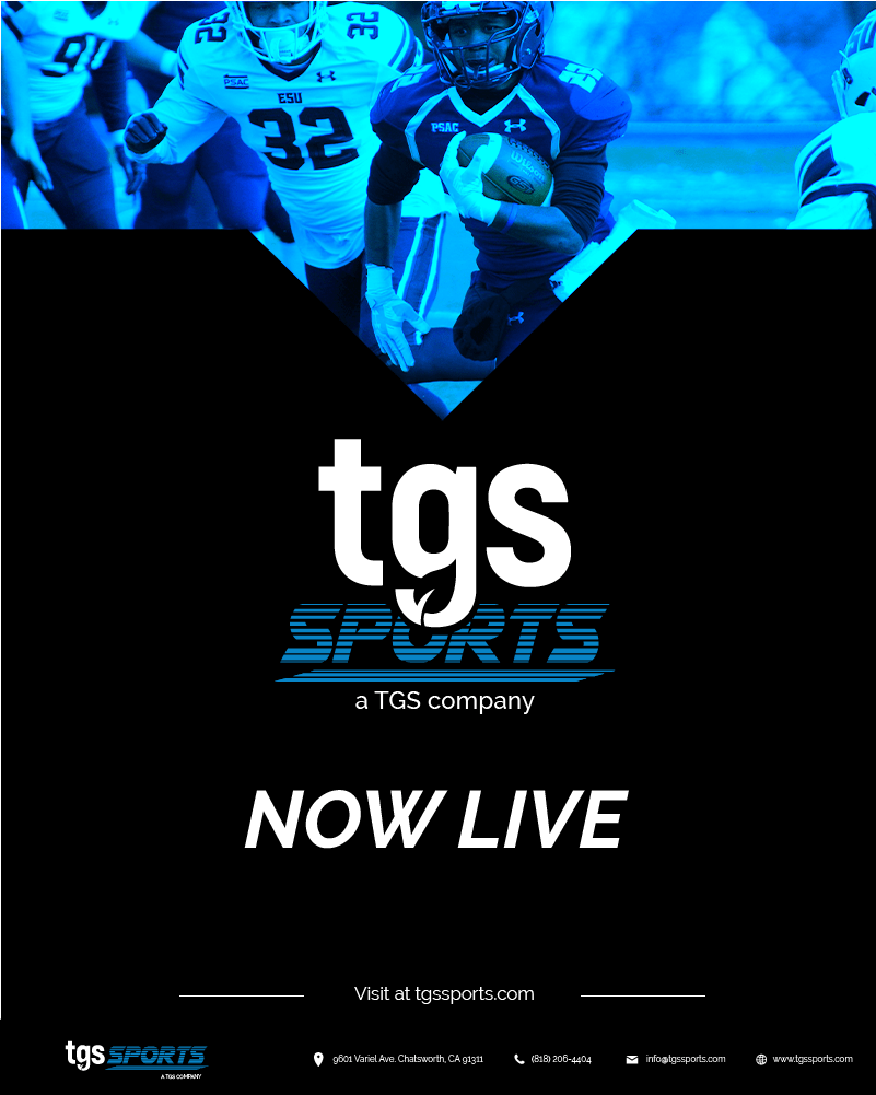 Press Release: NEW TGS Sports Website — LIVE NOW @ tgsSports.com
